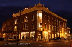 Old hotel in Guthrie Oklahoma. Photo by T Bonham
