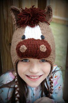Knit Horse hat