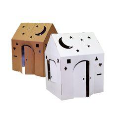 Cardboard Crafty Cottage Playhouse