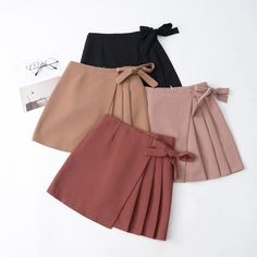 Diy Clothes No Sewing Dresses Shorts Ideas Diy Kleidung No Sewing Dresses Shorts Ideas Mode Outfits, Skirt Outfits, Casual Outfits, 50s Outfits, Girly Outfits, Fashion Sewing, Girl Fashion, Fashion Dresses, Brown Fashion