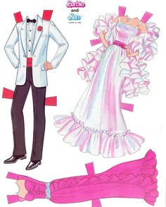 Ken and Barbie - outfits