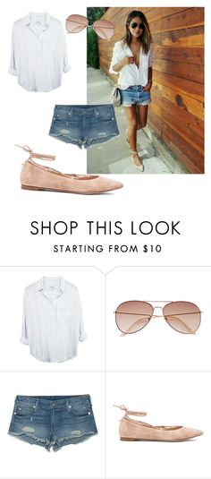 """Untitled #7"" by getxfreex on Polyvore featuring H&M, True Religion and Gianvito Rossi"