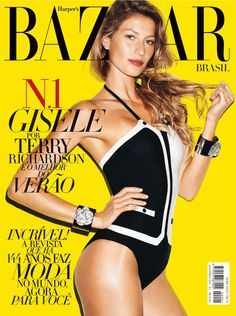 Ícons da Moda | A supermodelo Gisele Bündchen completa hoje 34 anos!
