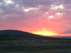 Eastern WA sunsets