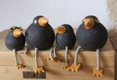 de ce_photo html image. Clay Birds, Ceramic Birds, Ceramic Animals, Clay Animals, Ceramic Pottery, Pottery Art, Ceramic Art, Paper Mache Crafts, Clay Crafts