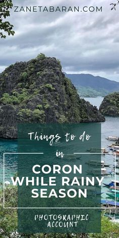 Got to Coron, Philippines during rainy season? No worries, check out things to do while it is raining and typhoon season in the Philippines. Stuff To Do, Things To Do, Philippine Holidays, Famous Pictures, Bungee Jumping, Coron, Rainy Season, When It Rains