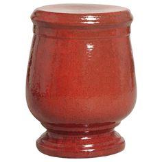 Garden Stools - Tuscan Garden Stool - Red