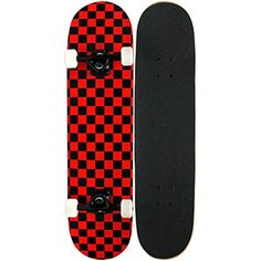 KPC Pro Skateboard Complete, Black and Red Checker KPC https://www.amazon.com/dp/B004UOL6BO/ref=cm_sw_r_pi_dp_x_OEv2ybY0RDKQV