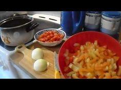 Lečo do skla - YouTube Fruit Salad, Macaroni And Cheese, Make It Yourself, Ethnic Recipes, Youtube, Food, Mac Cheese, Mac And Cheese, Hoods