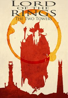 LotR Minimal Movie Posters by Nicholas Hyde