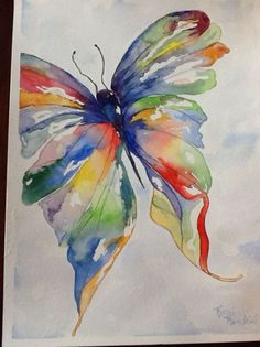 Watercolor Butterfly | Awesome