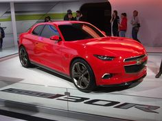 Chevy Code 130R Concept Car, this has to be their next weapon