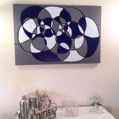 Acrylic on Canvas piece...SOLD