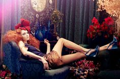 Plastic Dreams with Lily Cole by Absynth Photo