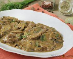 Pork neck in mushroom sauce - Mushroom Sauce, Stuffed Mushrooms, Pork, Beef, Foodies, Polish, Drink, Mushroom Gravy, Stuff Mushrooms