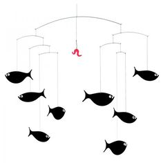 Mobile suspension flensted poissons