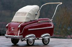 baby carriage meets automobile  Definitely interesting! http://www.geojono.com/