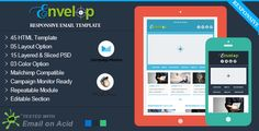 Envelop - Responsive Email Template