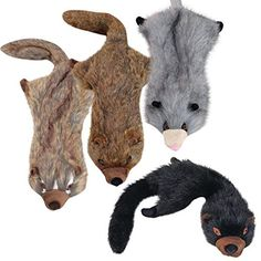 Grriggles Plush Unstuffies Dog Toy, Fisher Cat, 22-Inch * Check out the image by visiting the link. (This is an affiliate link and I receive a commission for the sales)