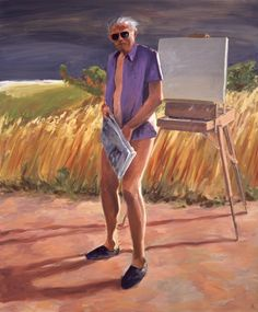 """Portrait of the Artist as an Old Man"" by Eric Fischl, 1984"