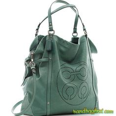 Coach: I'd really like to have this bag. I guess I will put it on my wish list.: