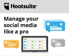 Hootsuite: An awesome tool to increase your social media productivity.