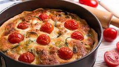4 καλοκαιρινά φαγητά με ντομάτες Quiche, Breakfast, Food, Breakfast Cafe, Essen, Quiches, Yemek, Custard Tart, Meals