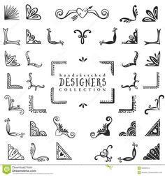 Hand Drawn Vector Design Stock Vector - Illustration of exploding, corner: 50326164 Sketch Note, Bullet Journal Inspiration, Vector Design, Vector Art, Design Design, Design Ideas, Graphic Design, Design Studio, Free Design