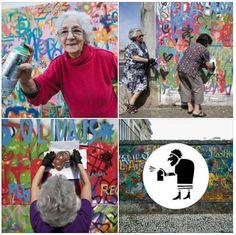 Pensate che la #StreetArt sia solo per i giovani? A Lisbona un gruppo di arzilli 60enni ha aderito al progetto Lata 65 che ha lo scopo di avvicinare le persone più anziane ai giovani attraverso l'arte urbana. Gli artisti coinvolti insegnano le principali regole della street art e a riprodurre lettere e forme sui muri grazie agli stencil. Il profilo #Instagram @lata_65 documenta le azioni di questo insolita e vivace crew. #Viralgram