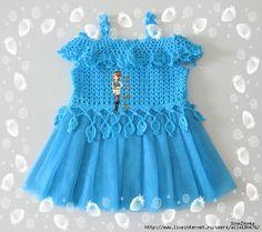 Örgü Tütü Elbise Yapımı 12