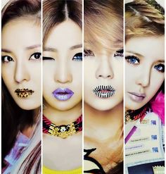 They are very sassy tone to their stuff and love that about them. I'm a little picky about but this is a all girl group I enjoy listening too. Kpop Girl Groups, Korean Girl Groups, Kpop Girls, 2ne1 Kpop, Kpop Tumblr, Sandara Park, K Pop Star, Korean Bands, Korean Music