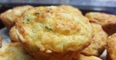 Rezept für Käse Muffin mit flüssigem Kern