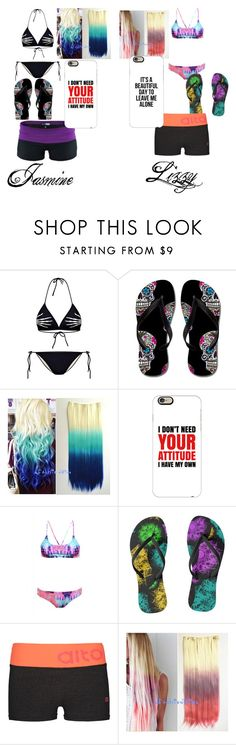 """""""Pool"""" by lakrishia-lakri-kri-brown on Polyvore featuring One Step Up, Casetify and AX Paris"""