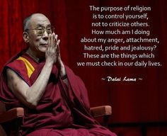 """1,190 Likes, 16 Comments - ☸️📿Buddhism📿☸️ (@instabuddhagram) on Instagram: """"Wise words from His Holiness the 14th Dalai Lama. #instabuddhagram #instabuddha #buddhism #buddha"""""""