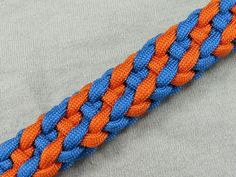 How to make a Plaited French Sinnet Paracord Bracelet Tutorial (Paracord...