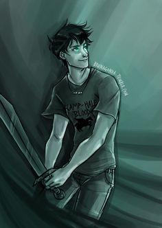 brunagonda:  Idk, I wanted to draw Percy… >_< Art is mine, please, reblog, don't repost.
