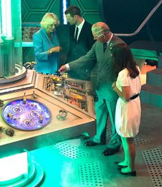 ExtERminate! Royals visit Doctor Who set
