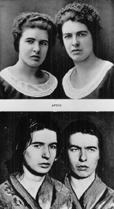 Christine and Léa Papin were two French maids who murdered their employer's wife and daughter in Le Mans, France, on 2 February Haunting Stories, Sister Photos, French Maid, Serial Killers, Mug Shots, Crime, Female, Amp, Crime Comics