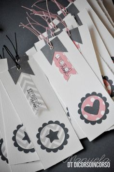 EMBELLISHMENT INSPIRATION - book mark : Manu x Dicorso in corso