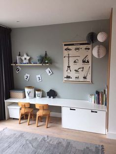 36 Unique Ikea Playroom Design Ideas For Your Inspiration Boys Room Design, Kids Bedroom Designs, Playroom Design, Boy Room, Kids Room, Room Girls, Girls Bedroom, Ikea Playroom, Playroom Ideas