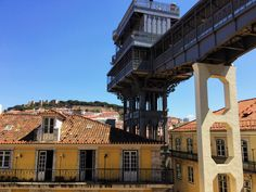 Baixa/Chiado District - Admire the Castelo São Jorge (St. Jorge Castle) and the Elevador de Santa Justa (St. Justa Lift) from the Carmo Convent in the #Chiado district. 5min walk from our Chiado district #apartments.