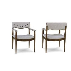 A.R.T. Furniture Epicenters Silver Lake Upholstered Back Arm Chair