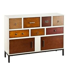 Contemporary Style Home Storage Console