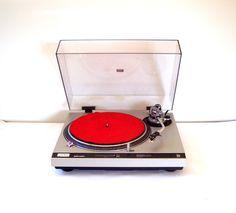 Vintage 70's Technics Quartz Direct Drive Turntable SL-1800MK2. $195.00, via Etsy.