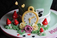 Alice in Wonderland Mad Hatter Cake | Flickr - Photo Sharing!