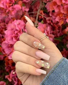 Acrylic Nails Coffin Short, Simple Acrylic Nails, Pink Acrylic Nails, Nails Inc, Gel Nails, Nail Polish, Acylic Nails, Cute Acrylic Nail Designs, Fire Nails