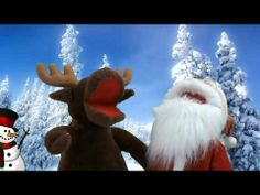 ▶ Christmas with Marty and Santa -wish you a merry x'mas/ 2 versions