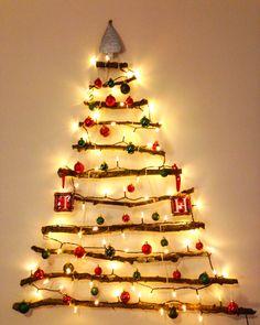 Stick Christmas Tree! Stick Christmas Tree, Xmas, Weihnachten, Jul, Noel, Natal, Natale, Christmas, Kerst
