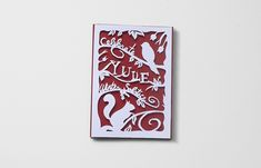 Holiday card - Papercut on Behance Anglo Saxon, Yule, School Projects, Paper Cutting, Pagan, Holiday Cards, Appreciation, Greeting Cards, Behance
