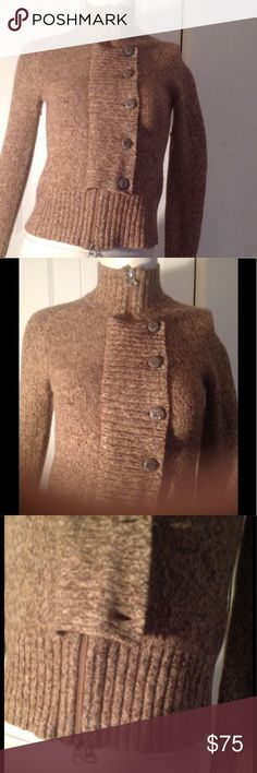 🦋NEW ULTRA CHIC MOTO STYLE LAMBSWOOL SWEATER This is brand new and beautiful so so chic!!! No tags size is M but fits Xs/S better. This is a  FabulousSALE WITH GREAT FINDS! HAPPY SHOPPING this is PHOSPHORUS ANTHROPOLOGIE BRAND PRICE IS FIRM 🦋 Anthropologie Sweaters